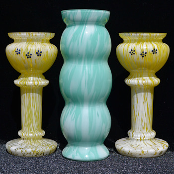 Welz variegated glass - Art Glass