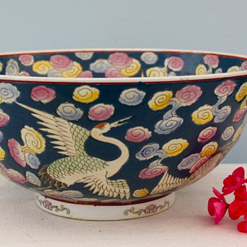 Large MYSTERY Punch Bowl - Asian