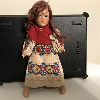 American Indian Doll - Dolls