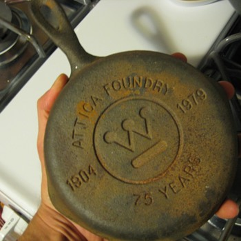Attica foundry commerative cast iron skillet - Kitchen