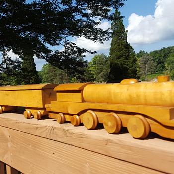 Boysen Toys Wooden Train - Toys