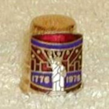 "Bicentennial ""Statue of Liberty"" Thimble - Sewing"