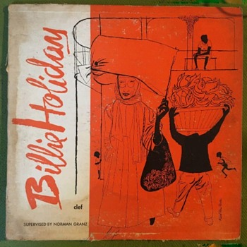 """Billie Holiday-Billie Holiday (Clef Records #MG C-161) (10"""" LP) VG/G - Records"""