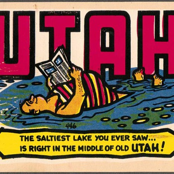"Travel Sticker - ""Utah"" - Advertising"