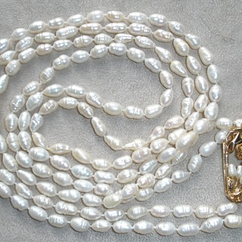 Pearl Necklace Clasp  - Fine Jewelry