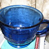 Colbalt Blue Glass Measuring Cup