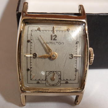 "1951 Hamilton ""Kirby A"" 14K medallian series - Wristwatches"