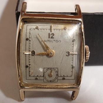 """1951 Hamilton """"Kirby A"""" 14K medallian series"""