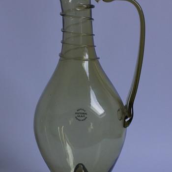 Reproduction Jug - Art Glass