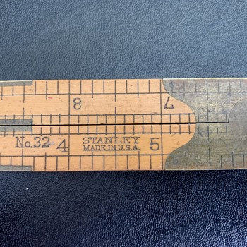 Stanley No.32 Folding Caliper Ruler  -  Unknown Age - Tools and Hardware