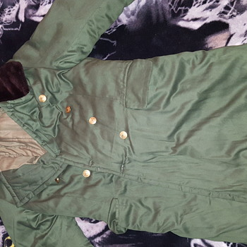 foreign military jacket...is it real military? very warm and nice