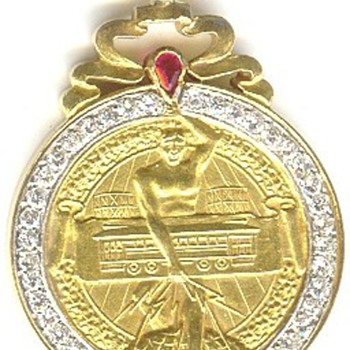 The Unique Shaw Medal - Railroadiana