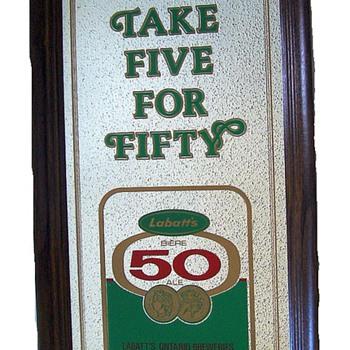 ADVERTISING -- Labatt's 50 Ale