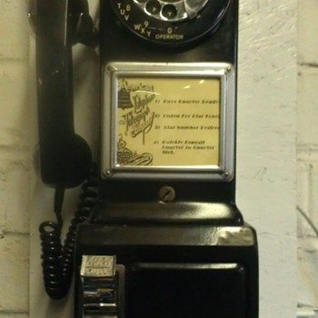 Western Electric three slot pay phone