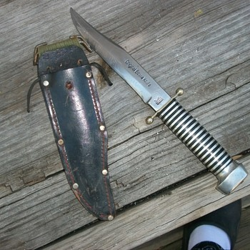 pre 1960 soffe original bowie knife - Sporting Goods