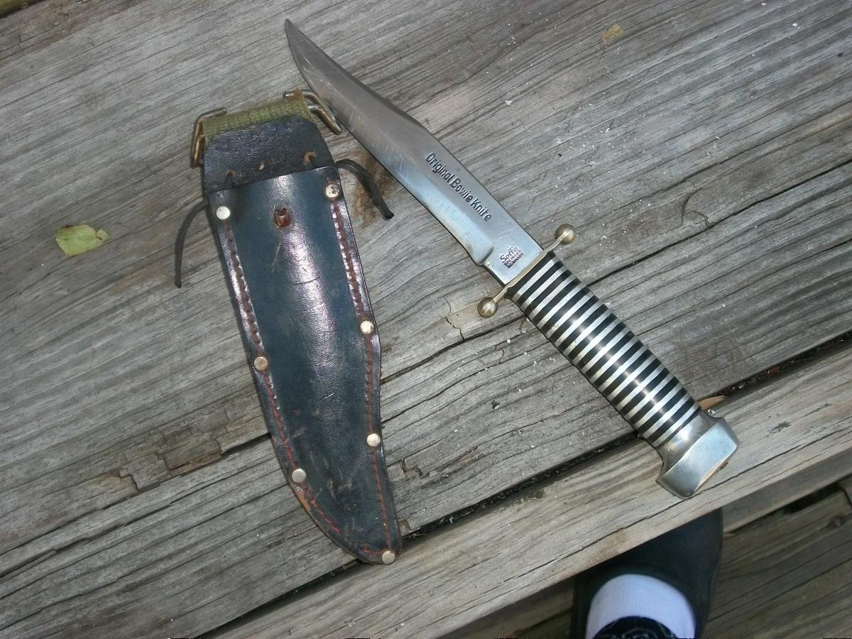 Original Bowie Knife Solingen Germany Value