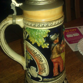 Musical German Beer Stein