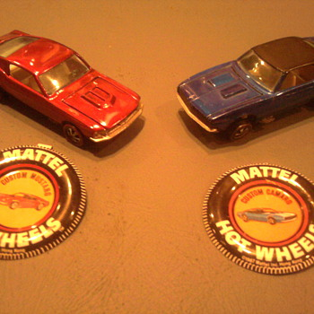 The Hot Wheels Mustang and Camaro started it all.  Today the real ones still battle it out as rivals.   - Model Cars