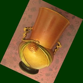 Roseville Pinecone Vase - Pottery