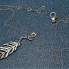 Silver necklace?