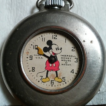 mickey mouse lapel watch ? - Pocket Watches