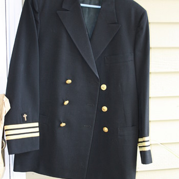 Battlefield Max Cohn jacket  with chaplain cross - Military and Wartime