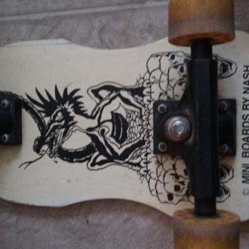 Nash mini skateboard