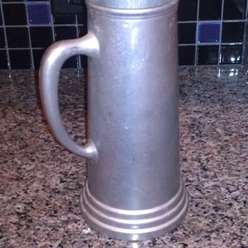 "antique wilton columbia mug RWP 12"" tall  - Kitchen"
