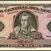 Ecuador - (5) Sucres Bank Note