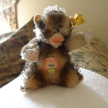 """Steiff Beaver  """"Nagy""""   - Dolls"""