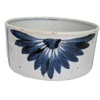 Antique Chinese Bowl Cobalt Blue 15th Century - Asian