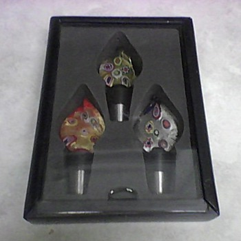 MURANO STOPPER SET - Art Glass