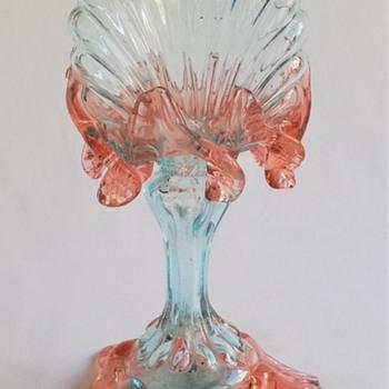Welz Shell Shaped Life Light - Art Glass