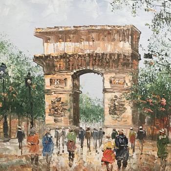 Oil painting Burarott? - Fine Art