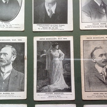 Collector cards of Irish 1916 rising - Cards