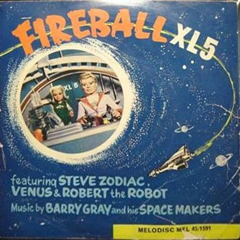 Fireball XL5 Funtime on VINYL!! - Records