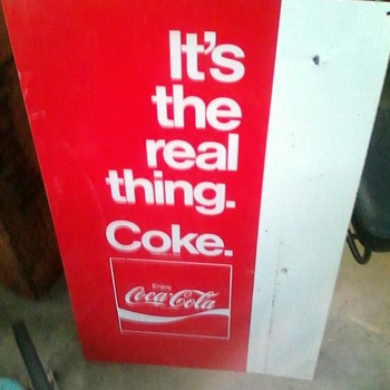 Its the real thing. - Coca-Cola