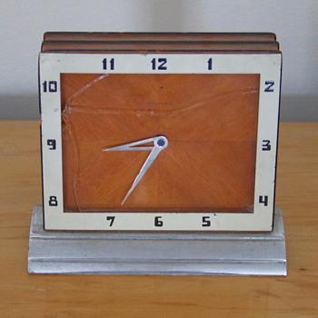 Waltham Art Deco Style Clock - Art Deco