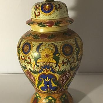 Antique Japanese ginger jar - Pottery