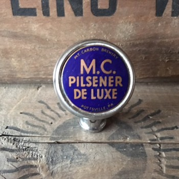 MC Pilsener De Luxe Ball Tap