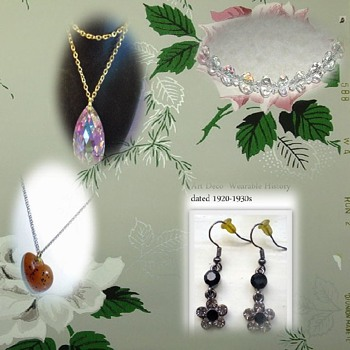 VINTAGE GEMS OF WEARABLE HISTORY - Costume Jewelry