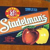 (NOS) New Old Stock - Stadelman's Apples Fruit Crate Label