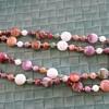 Some costume jewellery necklaces