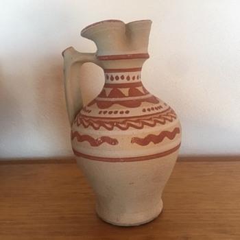 Unknown primitive pottery vase - Pottery