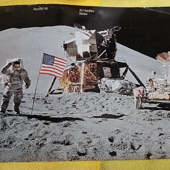1971 - Apollo 15 At Hadley Base - NASA EP-91 Official Public Affairs Booklet - Military and Wartime