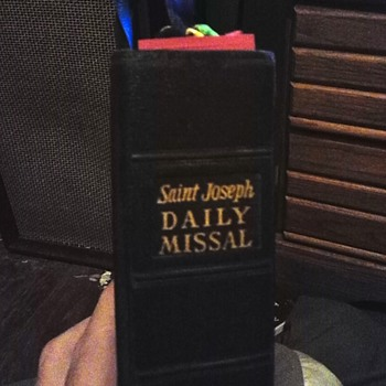 saint Joseph daily missal 1964