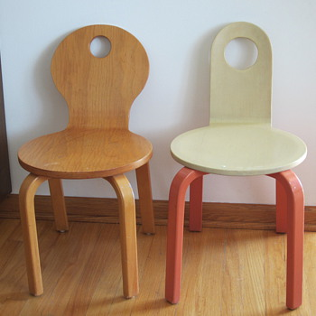 Children's Bentwood Chairs - Furniture