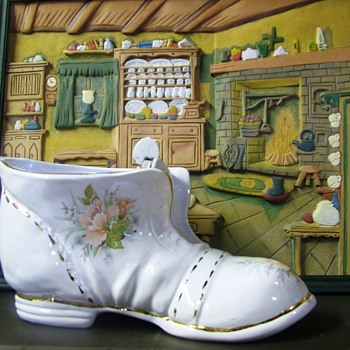 My Large Boot - Pottery