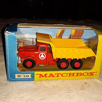 My Mighty Mega Mine Matchbox Monday K-19 King Size Scammell Tipper Truck 1967-1968 - Model Cars