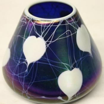 Imperial Free Hand Vase c. 1923 - Art Glass
